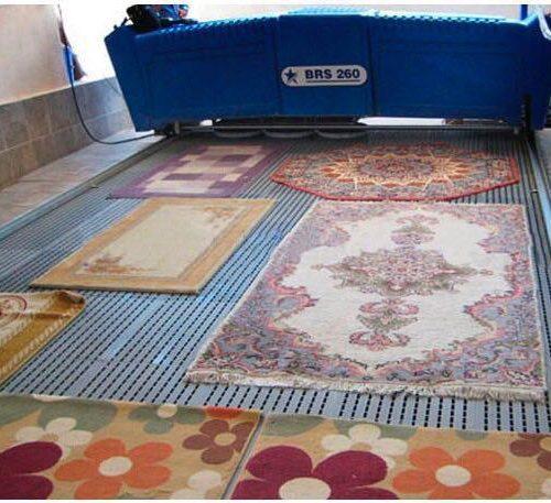 دستگاه قالی شویی ریلی اتوماتیک
