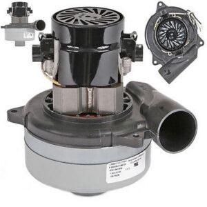 موتور وکیوم 24 ولت دو پروانه اگزوزدار