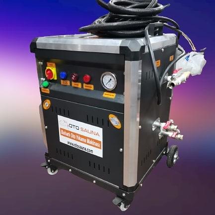 کارواش نانو بخار سیار- GOLD STEAM GT25